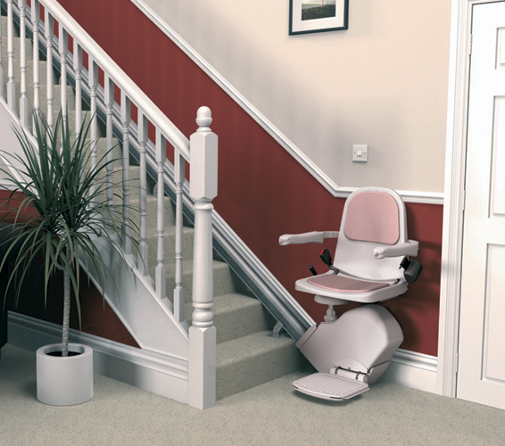 used acorn curved chair lifts for stairs